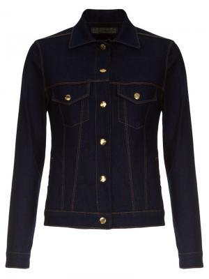 Джинсовая куртка Amapô. Цвет: синий