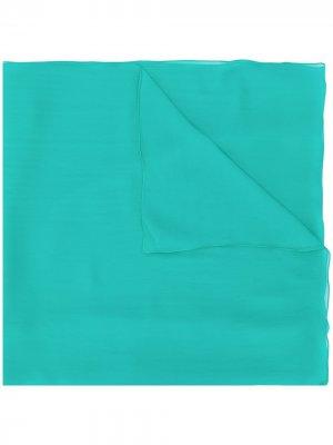 Легкий шарф Alberta Ferretti. Цвет: зеленый