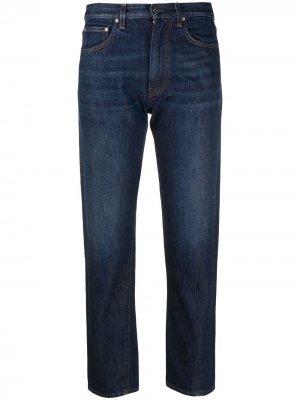 Укороченные джинсы Totême. Цвет: синий