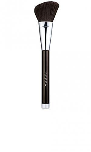 Кисточка для макияжа angled BECCA. Цвет: черный