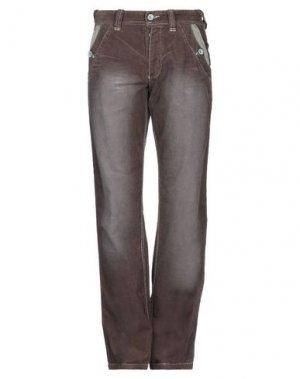 Повседневные брюки NAPAPIJRI. Цвет: темно-коричневый