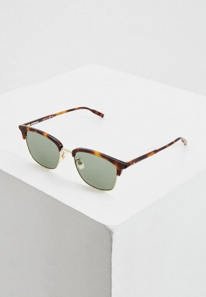 Очки солнцезащитные Montblanc MB0136SK. Цвет: коричневый