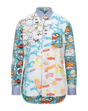 Pубашка COMME des GARÇONS SHIRT. Цвет: белый