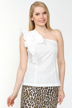 Блузка Alba Conde. Цвет: белый
