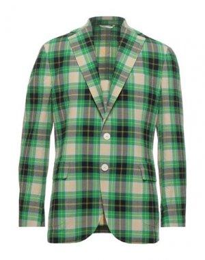 Пиджак DOPPIAA. Цвет: зеленый