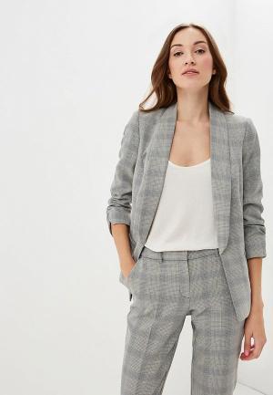 Пиджак Dorothy Perkins. Цвет: серый