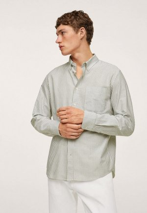 Рубашка Mango Man KODAK. Цвет: хаки