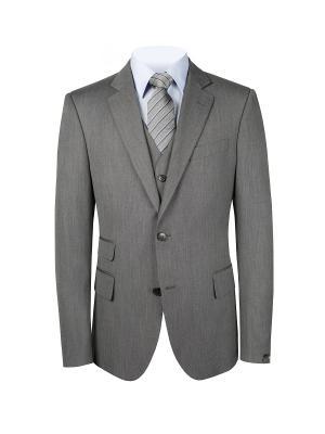 Пиджак MODERN btc. Цвет: светло-серый, серый