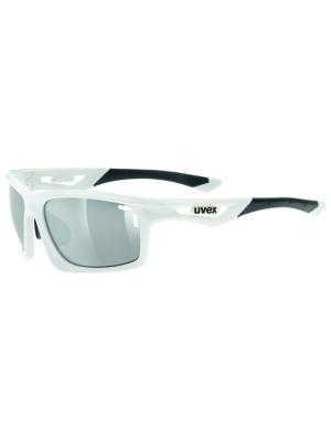 Солнцезащитные очки Uvex. Цвет: белый