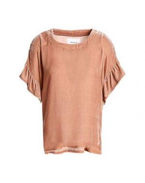 Блузка CURRENT/ELLIOTT. Цвет: телесный