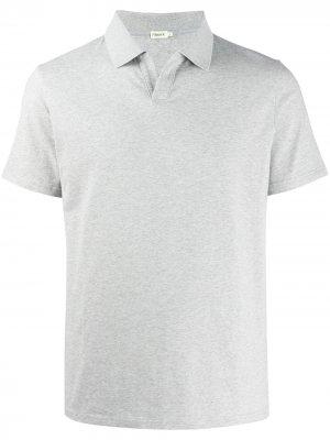 Рубашка-поло без пуговиц Filippa K. Цвет: серый