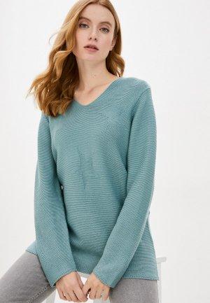 Пуловер Blue Seven. Цвет: бирюзовый