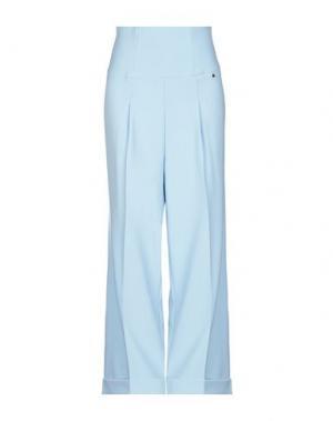 Повседневные брюки ANNARITA N. Цвет: небесно-голубой