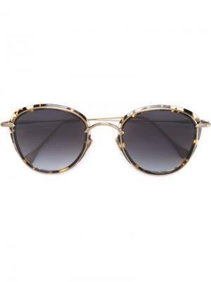 Солнцезащитные очки Rights of Kiss Frency & Mercury. Цвет: коричневый