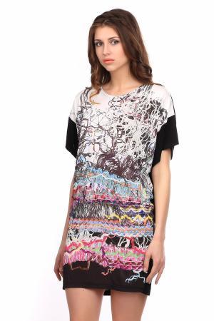 Платье Tuzzi. Цвет: разноцветный