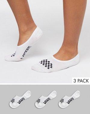 Набор из 3 пар белых носков Classic-Черный Vans