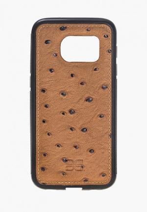 Чехол для телефона Bouletta Samsung Galaxy S7 Flex Cover. Цвет: коричневый