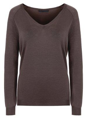 Шерстяной пуловер LES COPAINS