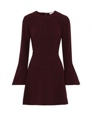 Короткое платье A.L.C.. Цвет: красно-коричневый