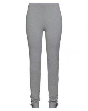 Повседневные брюки FULL CIRCLE. Цвет: светло-серый