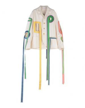 Пиджак WALTER VAN BEIRENDONCK. Цвет: слоновая кость