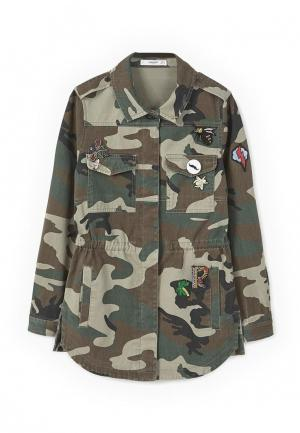Куртка Mango - FURTIF. Цвет: хаки
