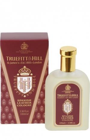 Одеколон Spanish Leather Truefitt&Hill. Цвет: бесцветный