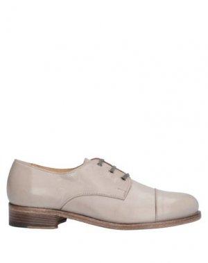 Обувь на шнурках ALBERTO FERMANI. Цвет: бежевый