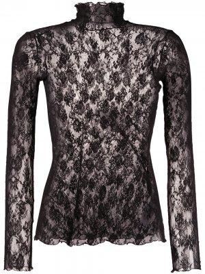 Пуловер Katharina из джерси Wolford. Цвет: черный