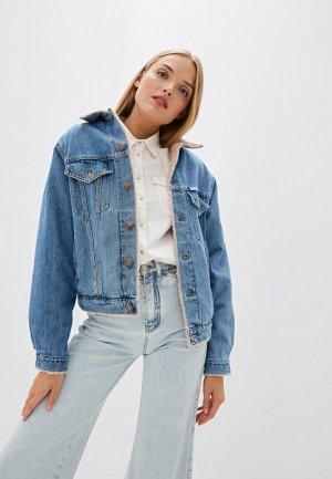 Куртка джинсовая Forte Dei Marmi Couture. Цвет: разноцветный