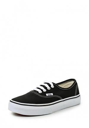 Кеды Vans AUTHENTIC. Цвет: черный
