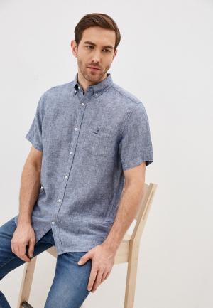 Рубашка Gant Exclusive for Lamoda. Цвет: синий