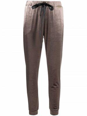 Drawstring tapered track trousers LIU JO. Цвет: серый