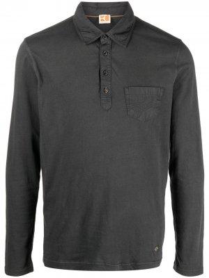 Рубашка поло с накладным карманом BOSS. Цвет: черный