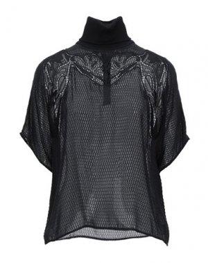 Блузка CARVEN. Цвет: черный