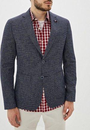 Пиджак Tommy Hilfiger Tailored. Цвет: синий