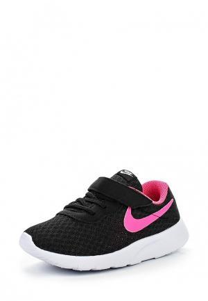 Кроссовки Nike Tanjun (TD) Toddler Girls Shoe. Цвет: черный