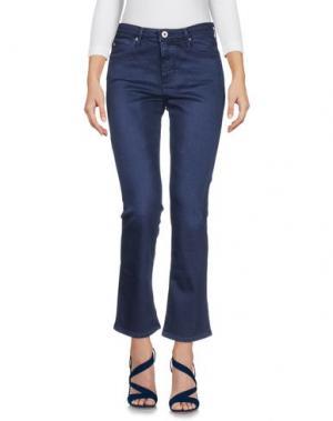 Джинсовые брюки AG JEANS. Цвет: темно-синий