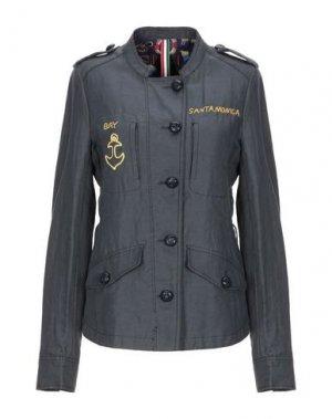 Куртка FEMME by MICHELE ROSSI. Цвет: стальной серый