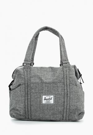 Сумка спортивная Herschel Supply Co Strand. Цвет: серый