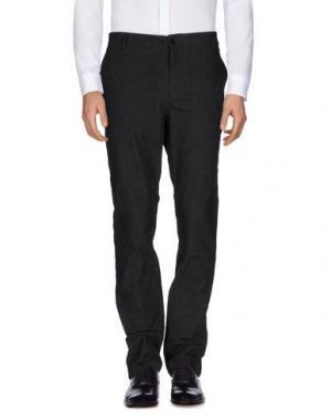 Повседневные брюки ELEVEN PARIS. Цвет: стальной серый