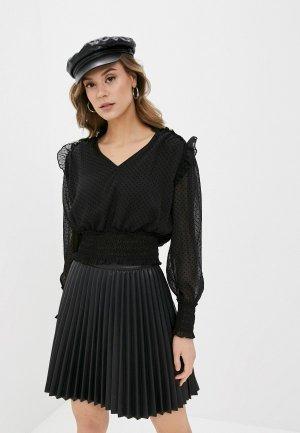 Блуза Pimkie. Цвет: черный
