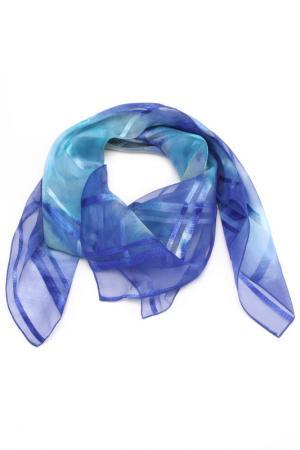 Платок F.FRANTELLI. Цвет: синий, голубой, ваниль