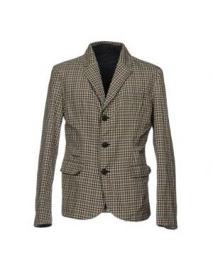 Пиджак ADD. Цвет: темно-коричневый