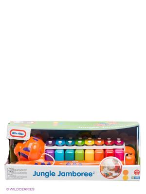 Музыкальная игрушка Тигр пианино-ксилофон 2 в 1 Little Tikes. Цвет: оранжевый
