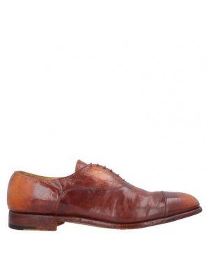 Обувь на шнурках ALBERTO FASCIANI. Цвет: коричневый