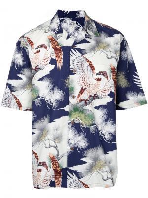 Рубашка King of the Sky Hawaiian Gold / Toyo Enterprise. Цвет: многоцветный