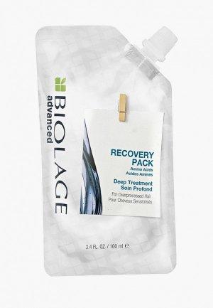 Маска для волос Matrix Biolage концентрат Recovery реставрации сильно поврежденных волос, 100 мл. Цвет: прозрачный