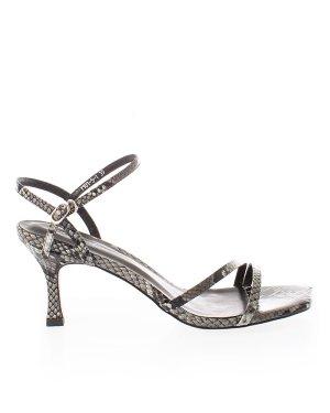 Босоножки Y101-5 39 черный+принт Just Couture. Цвет: черный+принт