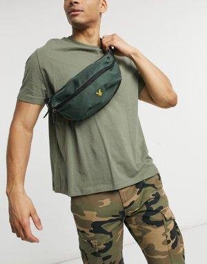 Сумка-кошелек через плечо -Зеленый цвет Lyle & Scott